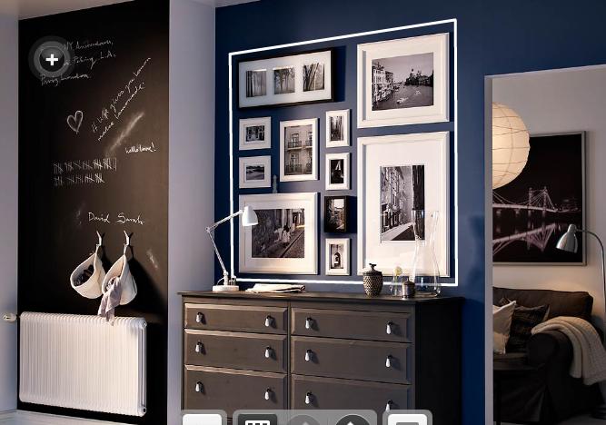 Como pendurar quadros na parede decorandoonline for Espejo pared completa