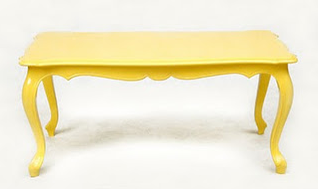mesa de jantar pintada