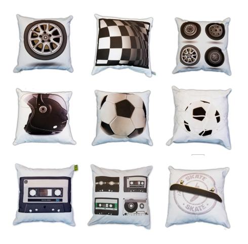 almofadas para meninos