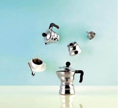 cafeteira Moka,(2011)  Alessandro Mendini