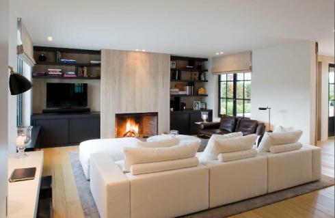 Lareiras decorandoonline for Moderne binnenhuisarchitectuur