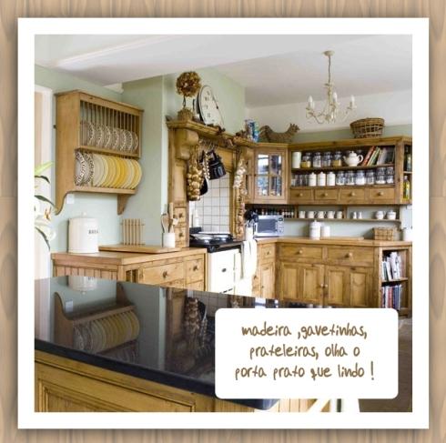 armario em madeira para cozinha
