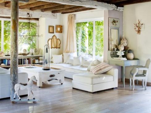 sala em estilo provençal