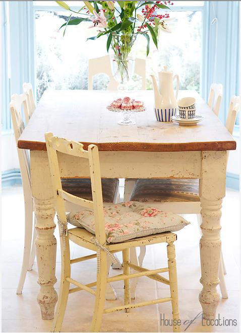 mesa rústica
