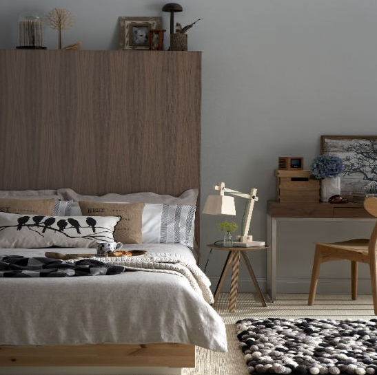 painel madeira para cama