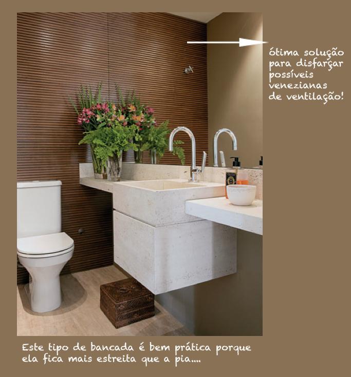 ideias decoracao lavabo:decoração de lavabo