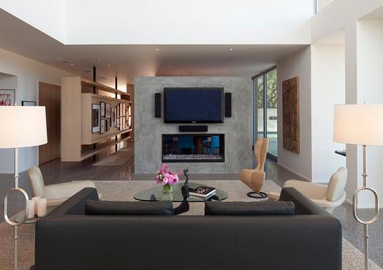 Sala de tv decorandoonline for Salas de television modernas