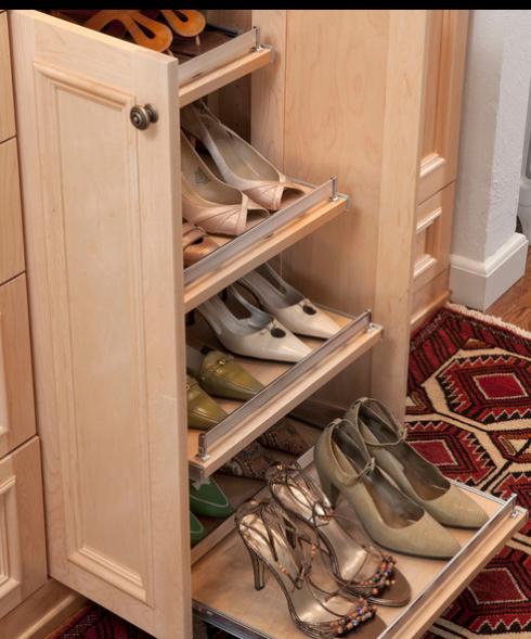 prateleiras para sapatos