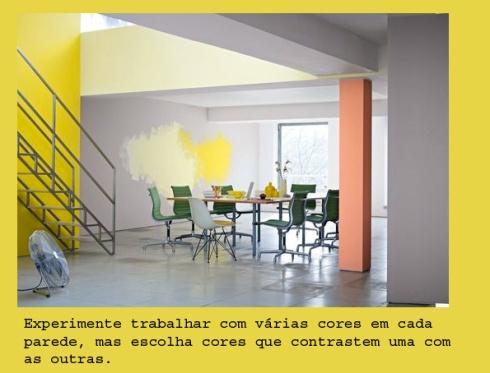pintura paredes coloridas