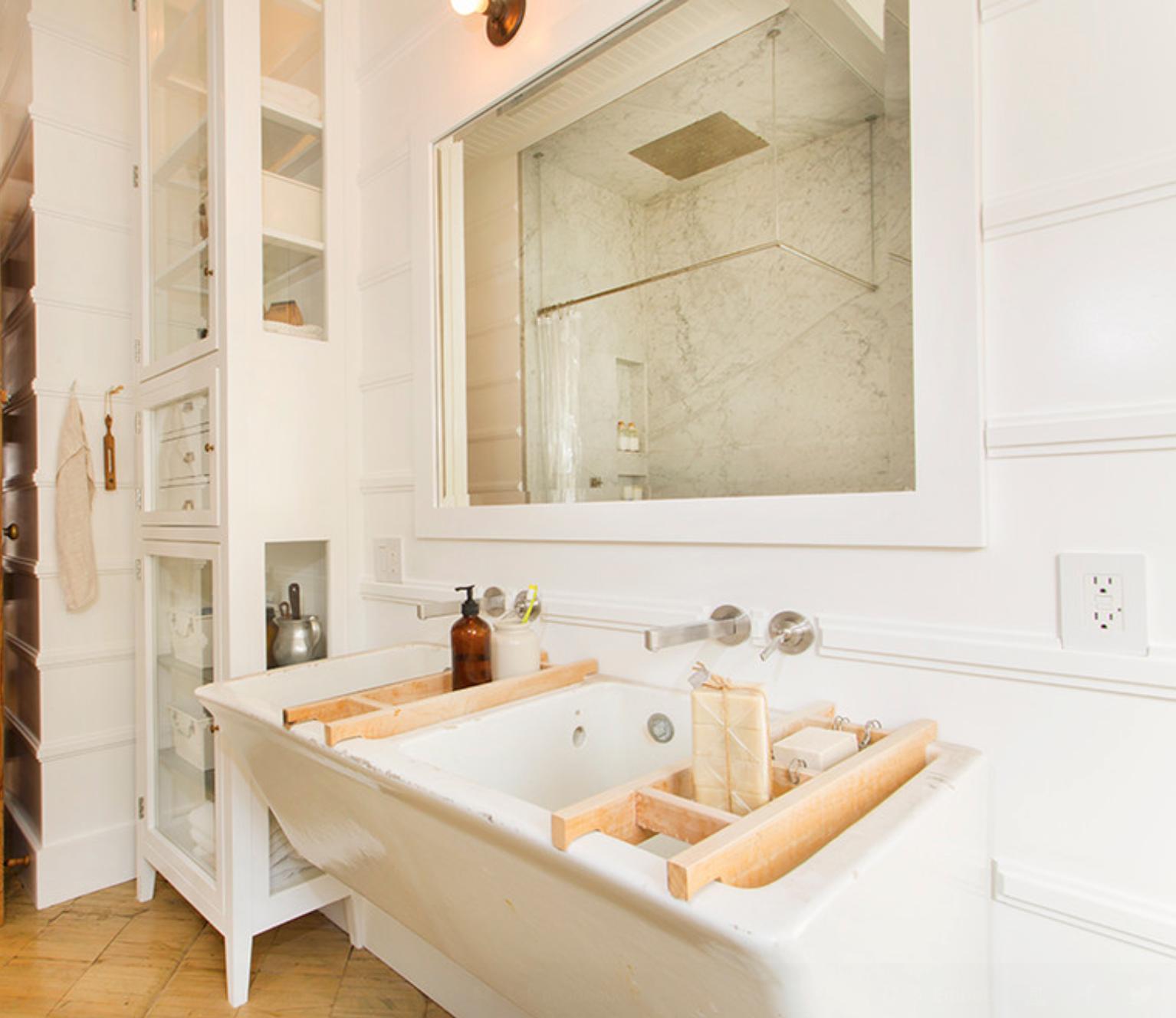 Banheiros super originais decorandoonline #A29C29 1534x1328 Banheiro Com Bancada Preta