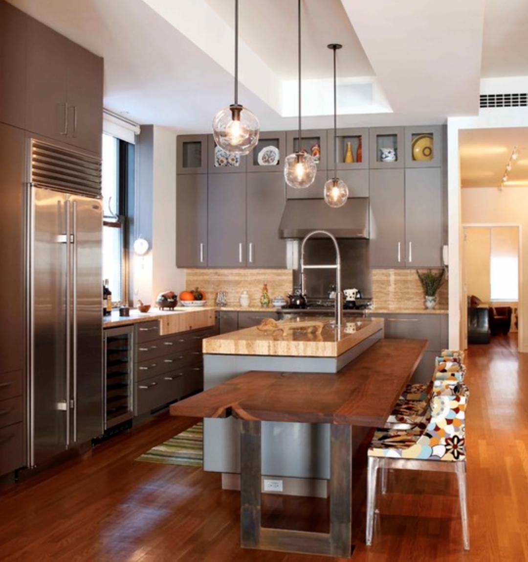 Que tal surprender no projeto de sua cozinha e sair do tradicional  #B0501B 1080 1148