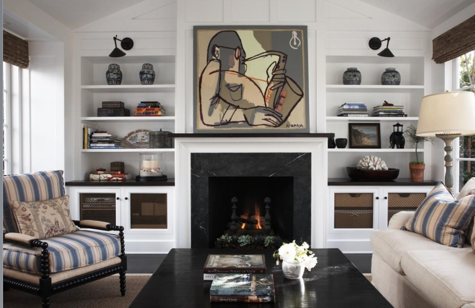 Como decorar sua estante com livros e objetos: decorandoonline #5F4D42 1558x1012