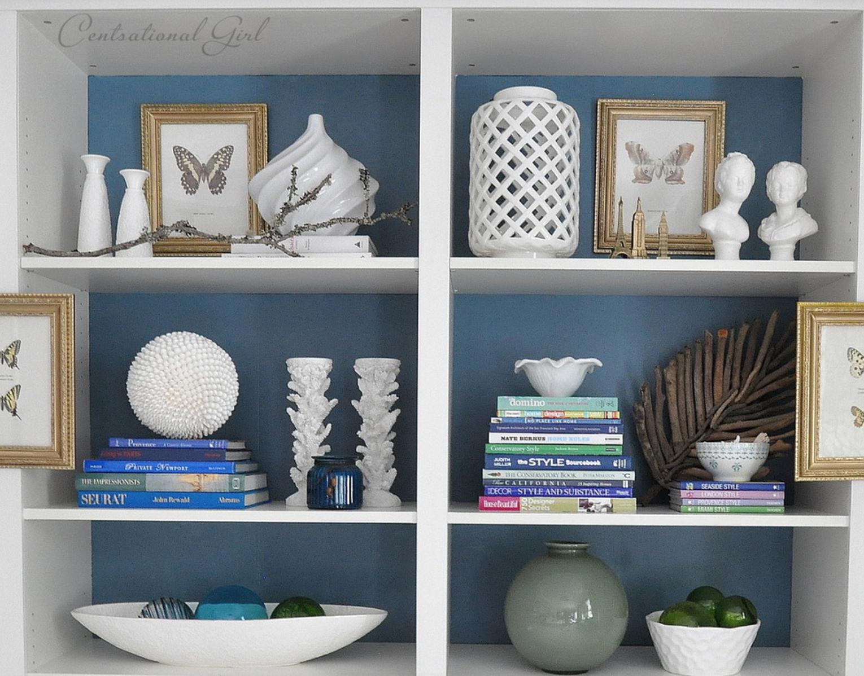 Como decorar sua estante com livros e objetos: decorandoonline #7A6849 1530x1198