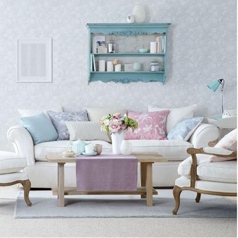 sofa romantico