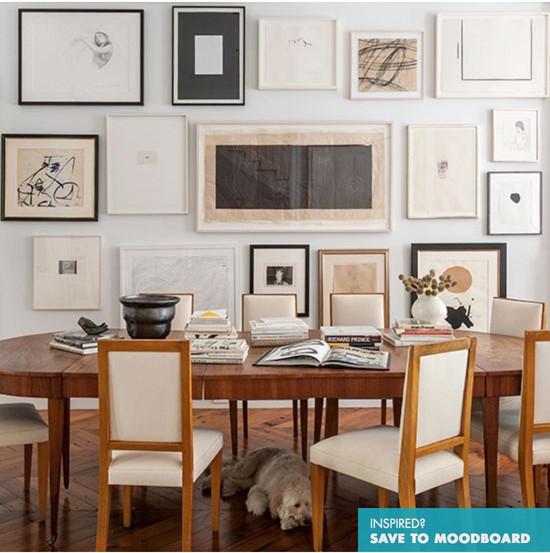 Diferenca De Copa E Sala De Jantar ~ Galeria de quadros na parede, preenchem a sala e deixam a decoração