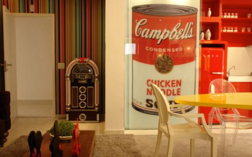 Este trabalho de Andy Warol para Campbells é considerado símbolo da pop art!