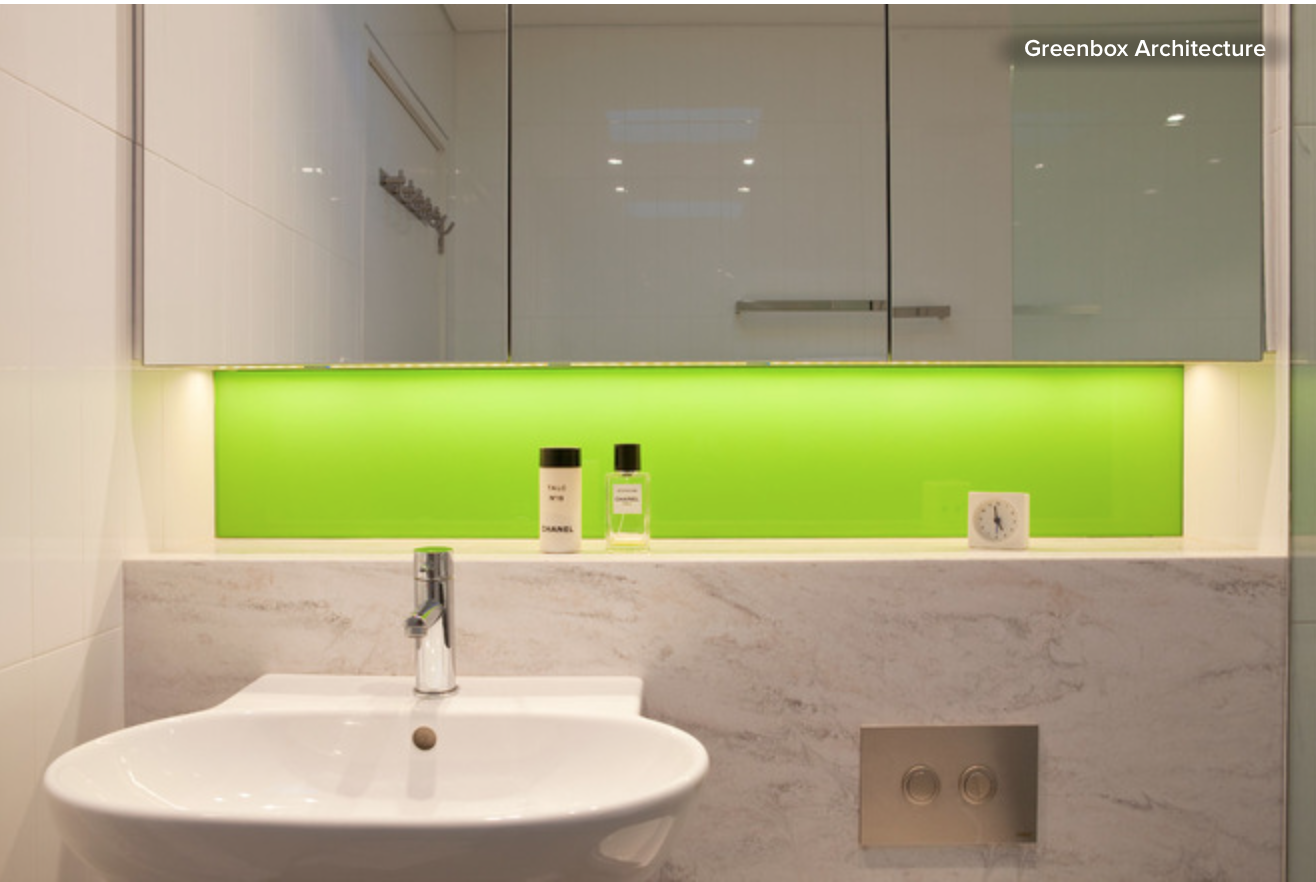 banheiros  decorandoonline -> Armario De Banheiro Aereo Com Espelho