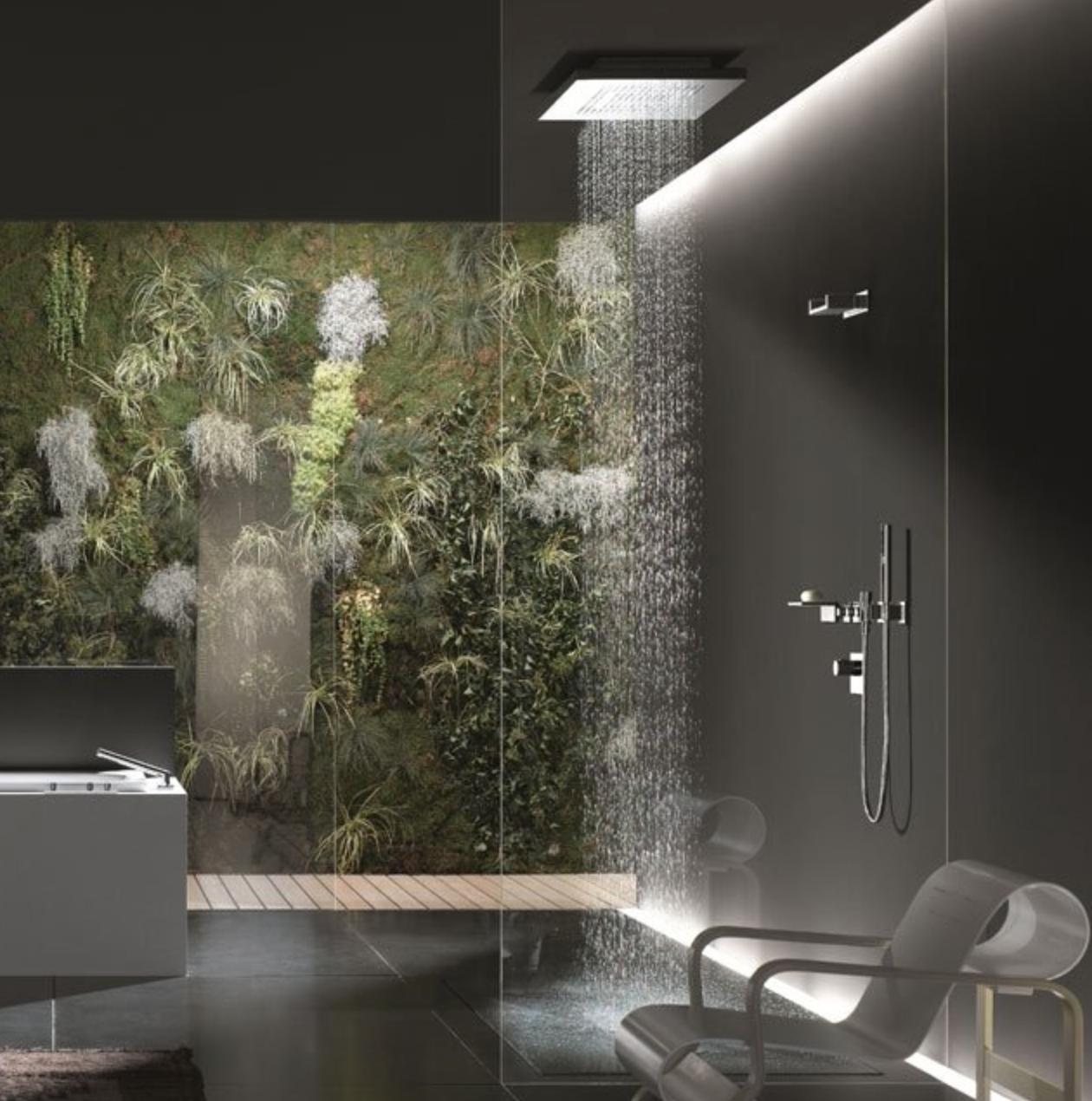 #757C4F Banheiros Modernos decorandoonline 1260x1270 px Banheiros Modernos 2013 793