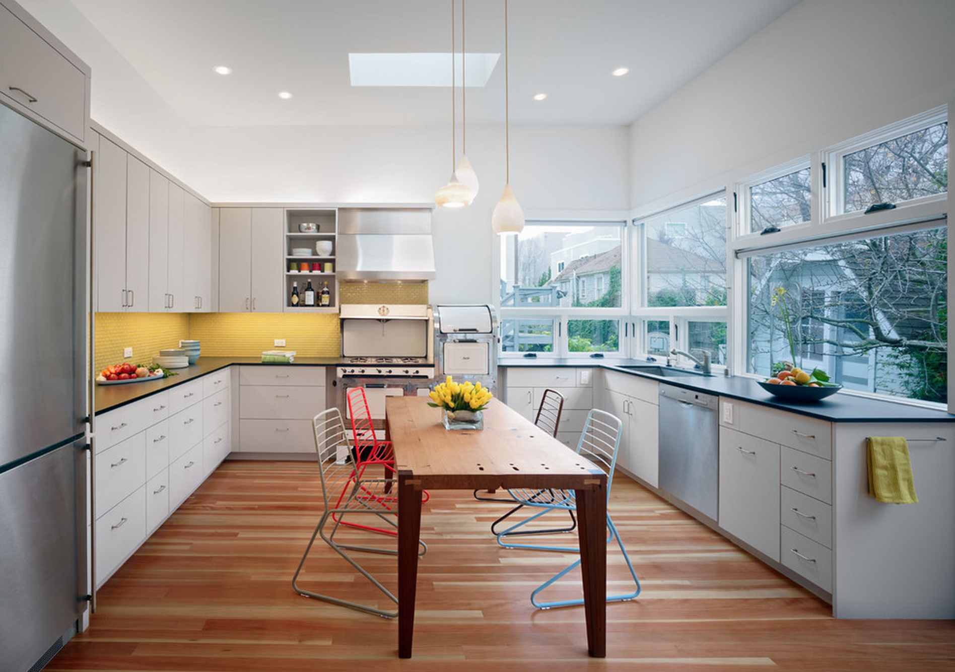 Cozinhas decorandoonline for Kitchen designs yellow