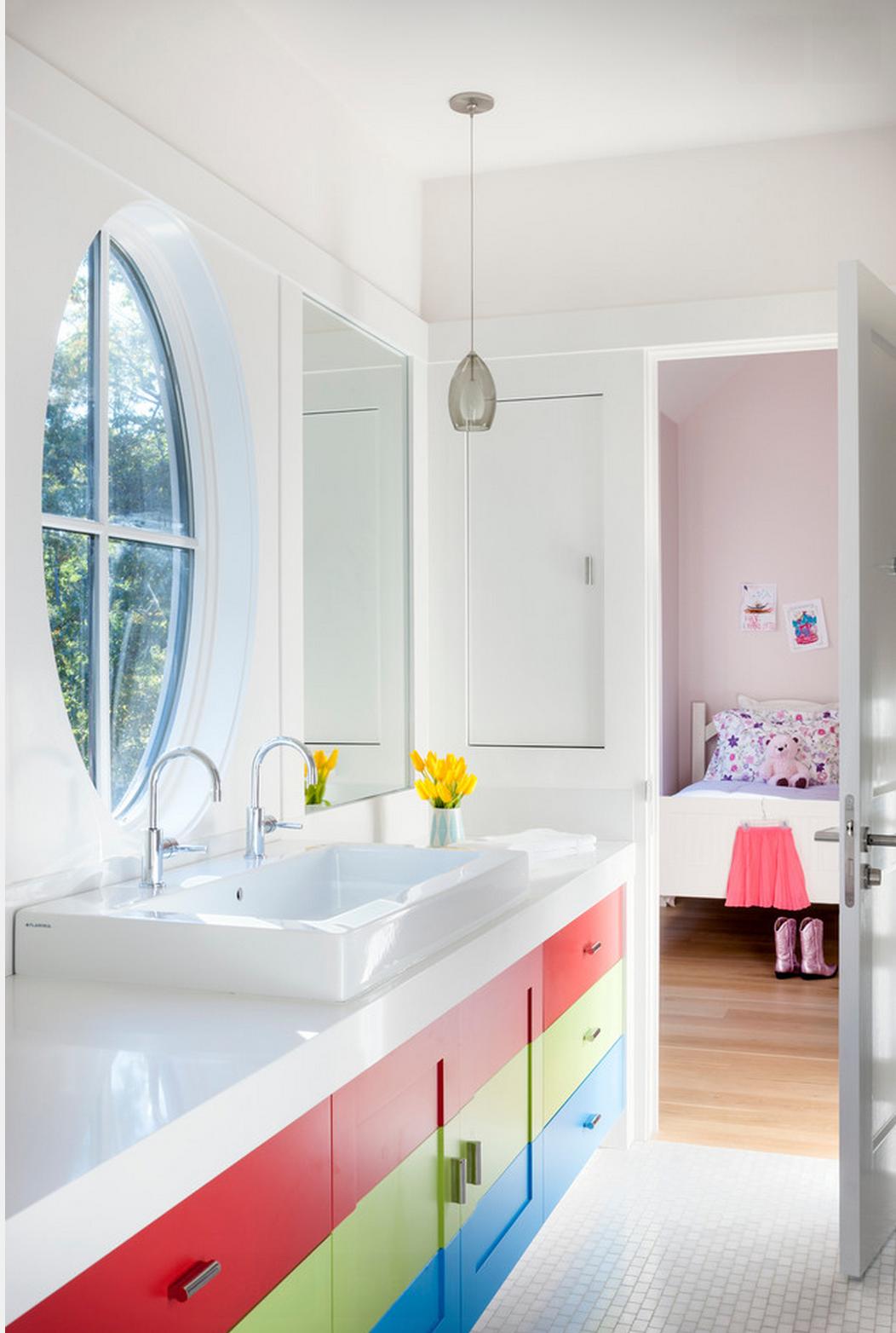 Banheiros para crian as decorandoonline for Child bathroom design