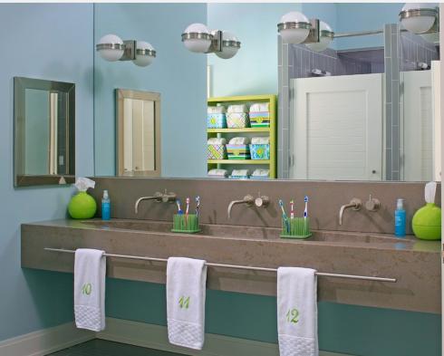 banheiro para crianças