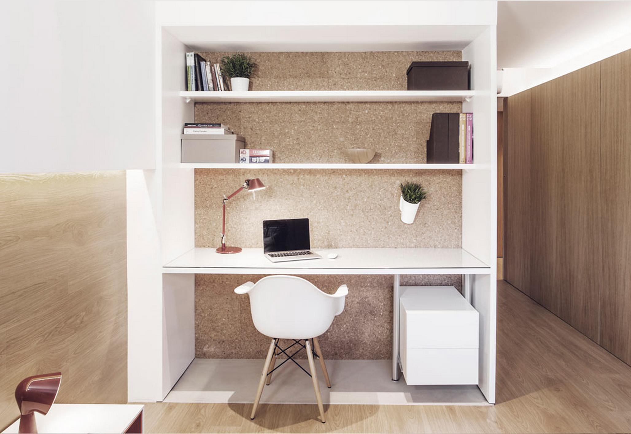 pequenos escrit rios decorandoonline. Black Bedroom Furniture Sets. Home Design Ideas