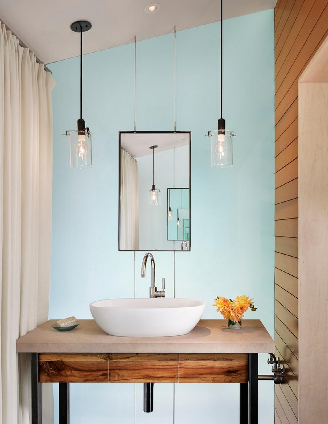 decorar lavabos redondos : decorar lavabos redondos:Os lavabos estão cada vez mais pequenos, mas bem por isso, com tão
