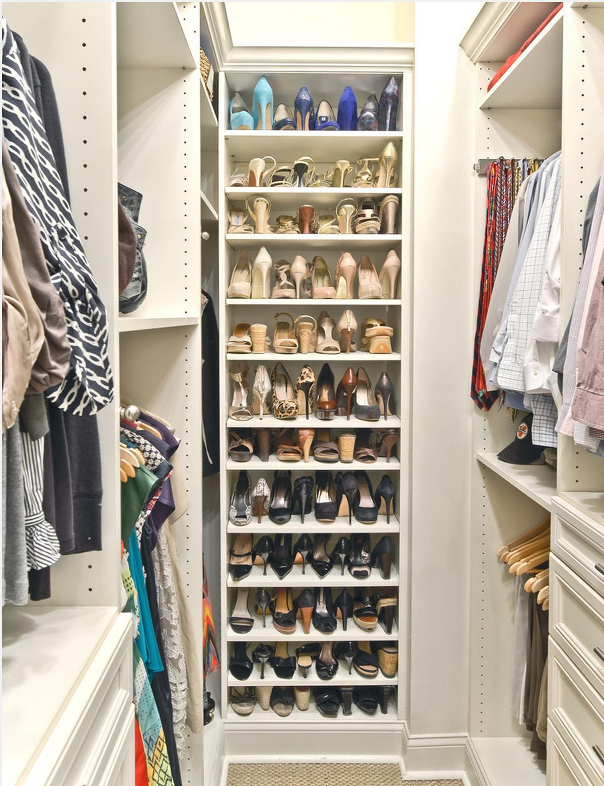 Sapateiras decorandoonline - Storage ideas for small bedroom closets ...