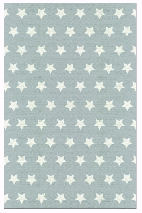 tapete estrela cinza