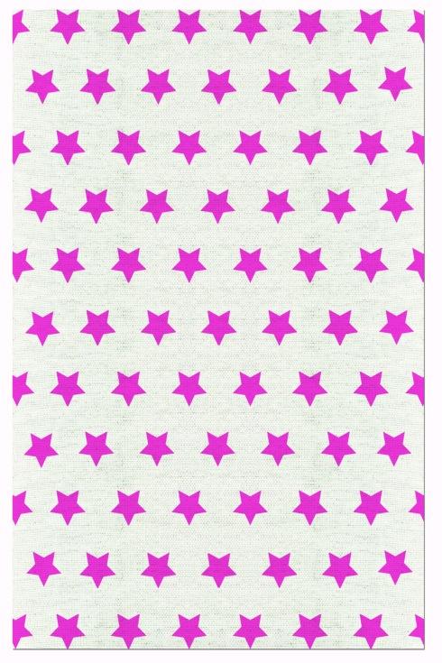 tapete estrela rosa invertido