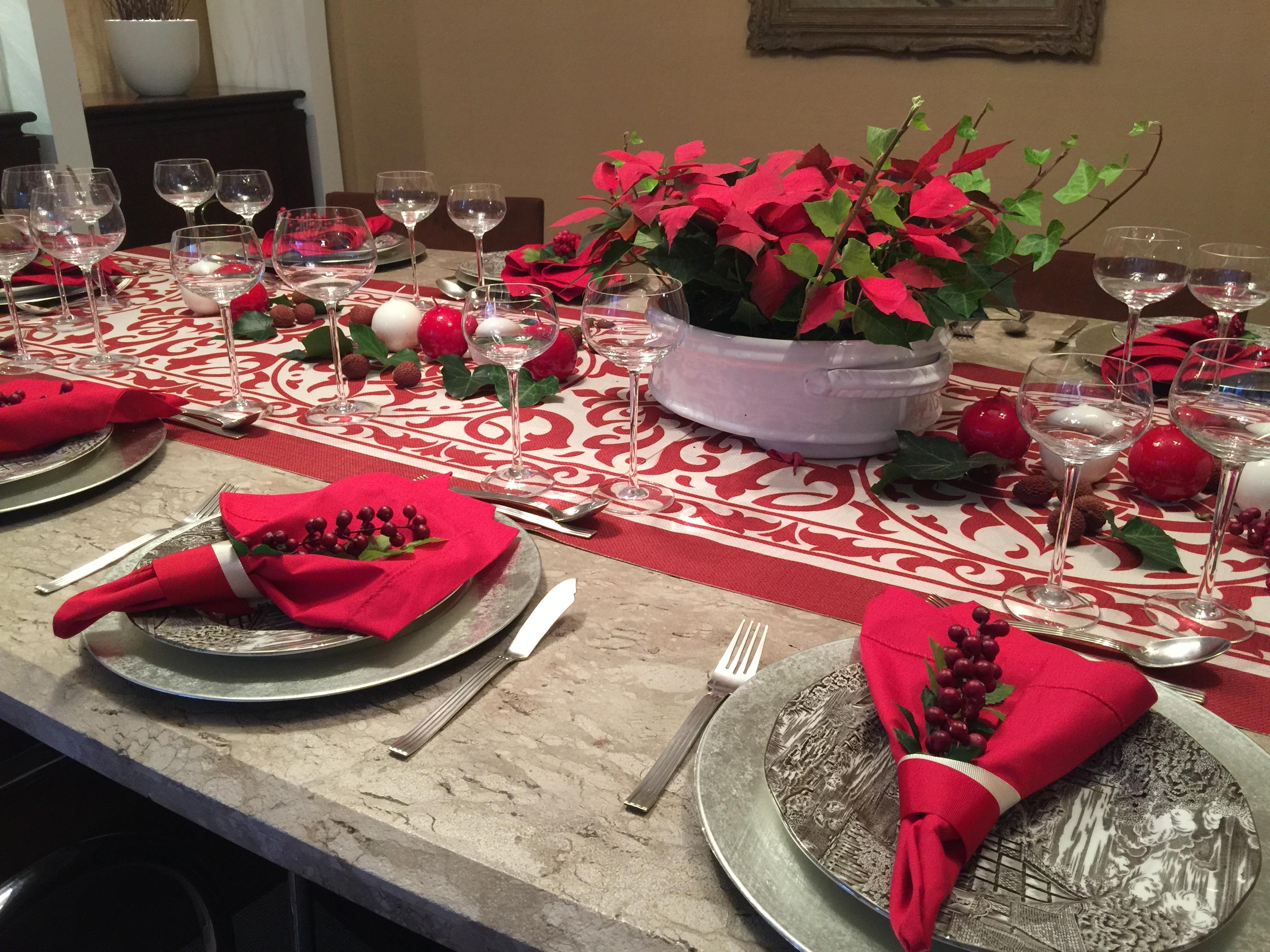 Foto mesa de natal decorada de ana camila vieira 939946 - Fotos de mesas decoradas ...