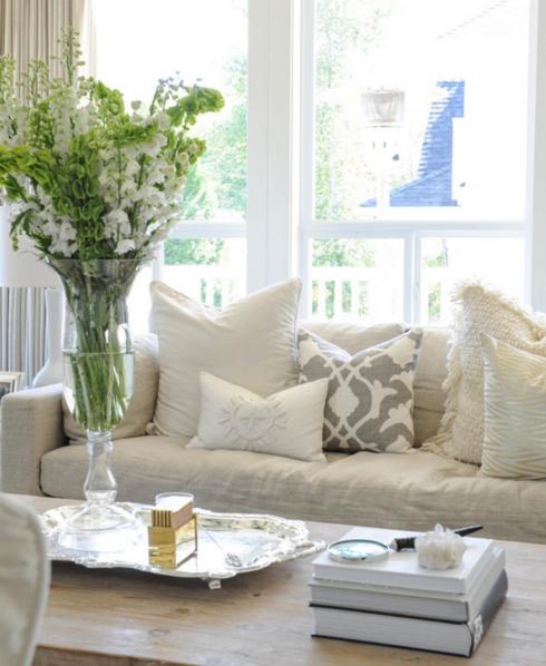 decoração com branco