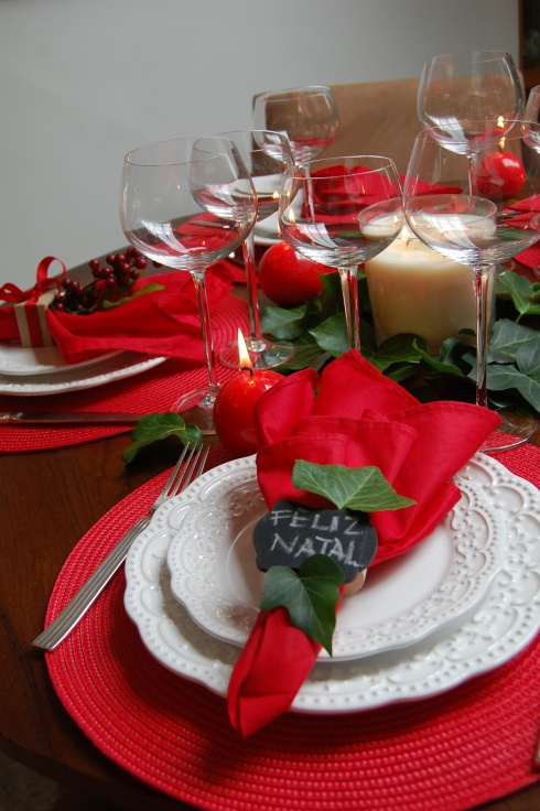 mesa de natal